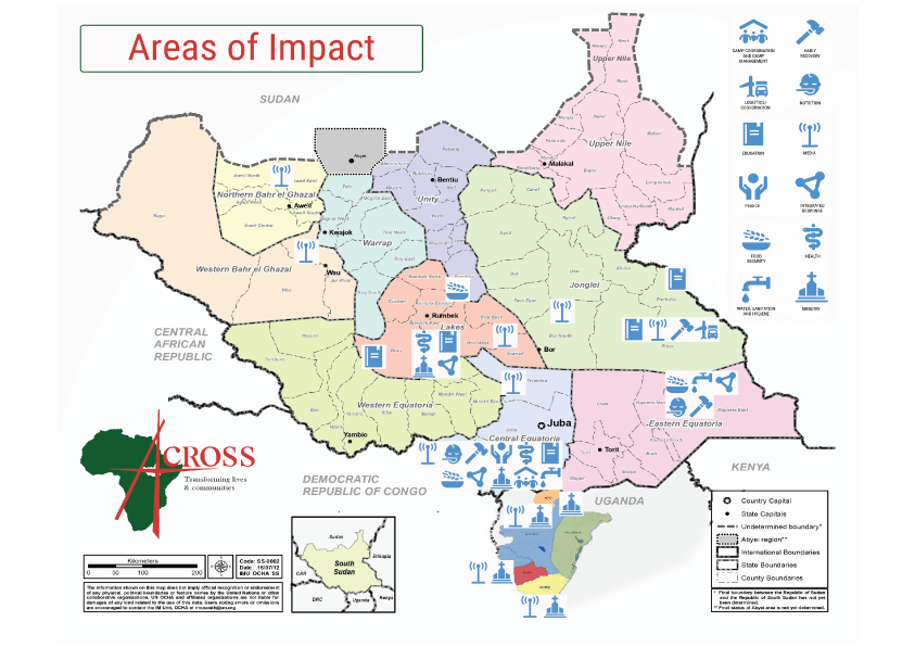 Areas of Impact