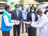 Donation to Juba Hospitals