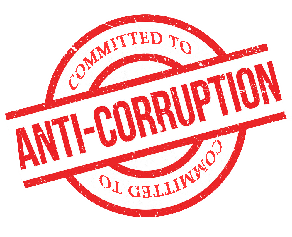 committed to anti-corruption